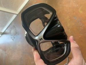 Scuba Pro Spectra Prescription Dive Mask Fast