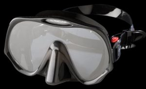 See the Sea RX Atomic Frameless Mask which can have prescription lenses